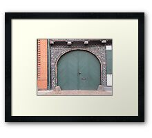 Historical Door II Framed Print