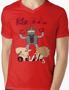 Killer Robot Goes to a Wedding Mens V-Neck T-Shirt