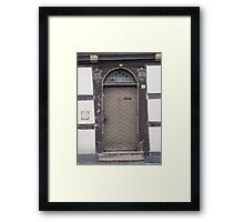 Historical Door IV Framed Print