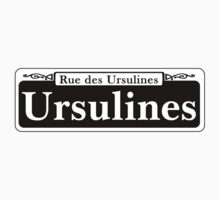 Ursulines St., New Orleans Street Sign, USA One Piece - Long Sleeve