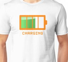 Battery Level | Charging Unisex T-Shirt