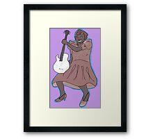 Sister Rosetta Tharpe Guitar Shero Framed Print