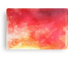 Abstract Watercolor Gradient Metal Print