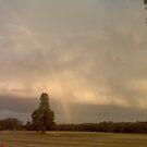 distant rainbow !  by nutchip
