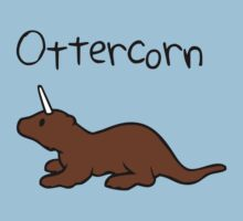 Ottercorn  (Otter Unicorn) One Piece - Short Sleeve