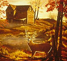 Autumn Glow by Chris J Worden Gregg