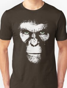 Apes Will Rise White Unisex T-Shirt
