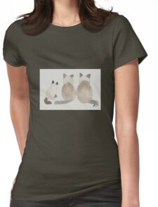 Ginger, Rosie, and Simon Womens Fitted T-Shirt