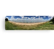 Lake  clouds  Canvas Print