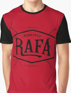 "Rafael Nadal ""rey de arcilla"" Graphic T-Shirt"