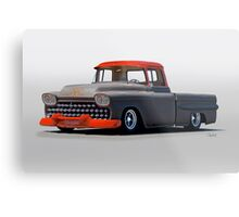1958 Chevrolet Kustom Pickup Metal Print