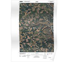 USGS Topo Map Washington State WA Dead Canyon 20110429 TM Poster