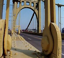 Pittsburgh, PA: Clemente Bridge by ACImaging