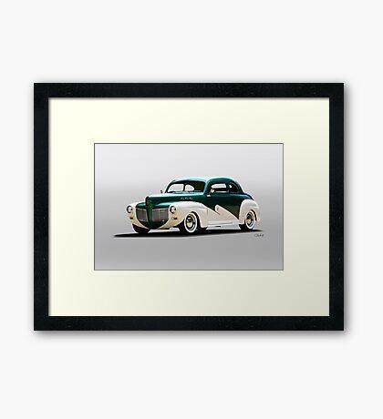 1941 Mercury 'Kustom' Coupe Framed Print