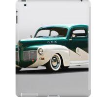 1941 Mercury 'Kustom' Coupe iPad Case/Skin