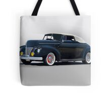 1940 Ford Convertible 'Hopped Up Fifties Style' Tote Bag