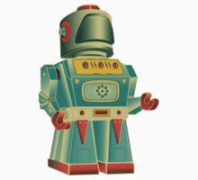 vintage robot One Piece - Short Sleeve