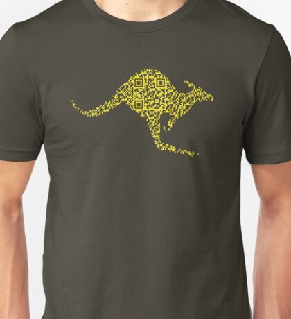 QR Roo Unisex T-Shirt