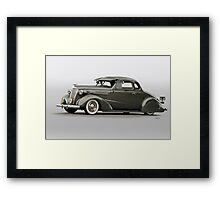 1937 Chevrolet 'Low Rider' Custom Coupe Framed Print