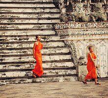 Wat Arun, Bangkok by Irene2005
