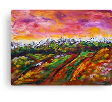 Foothills Fall Canvas Print