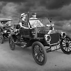 Model Ts on parade by wolftinz