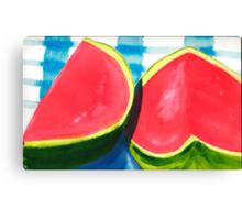 Watermelon Daze Canvas Print