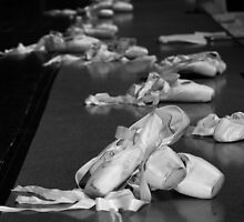 Pointe Shoes by Alfredo Estrella