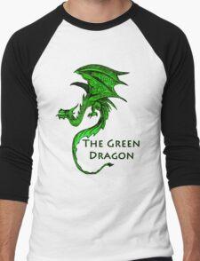 The Green Dragon Men's Baseball ¾ T-Shirt