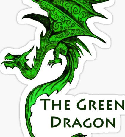 The Green Dragon Sticker