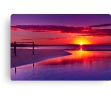 """""""Fisherman's Beach Awakening"""" Canvas Print"""