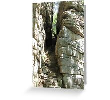 Stone Door at Savage Gulf, TN Greeting Card