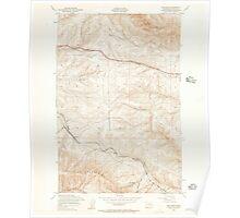 USGS Topo Map Washington State WA Boylston 240200 1953 24000 Poster