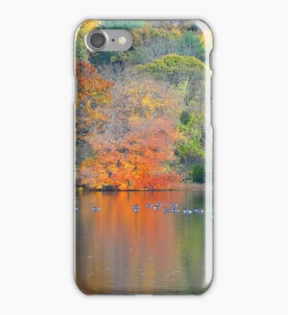 NATURE ALWAYS WEARS THE COLOR OF THE SPIRIT. iPhone Case/Skin