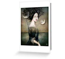 Sense of Night Greeting Card