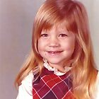 young girl vintage old preschool photo 1970s by Tia Knight