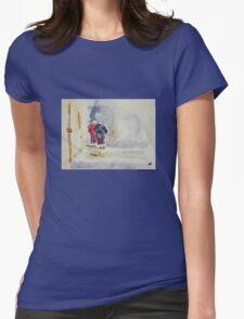 The Two Sisters Womens Fitted T-Shirt