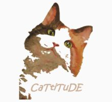 Cattitude - A Cat With Attitude by taiche