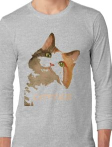Cattitude - A Cat With Attitude Long Sleeve T-Shirt