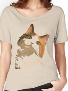 Cattitude - A Cat With Attitude Women's Relaxed Fit T-Shirt