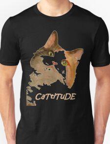 Cattitude - A Cat With Attitude Unisex T-Shirt