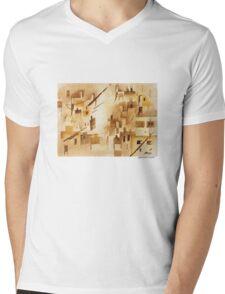 City on The Hill Mens V-Neck T-Shirt
