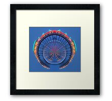 The Little Planet of the Twilight Zone Framed Print