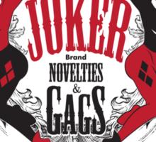 Joker Brand Novelties & Gags Sticker
