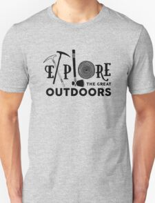 Explore the great outdoors Unisex T-Shirt