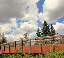 Bridge under Sky by Jim Sauchyn