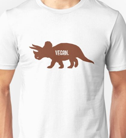 Triceratops Love Veggies Unisex T-Shirt