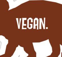 Triceratops Love Veggies Sticker