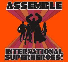 International Superheroes Kids Clothes