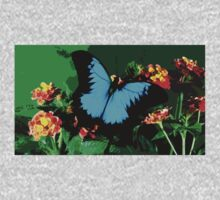 Wild nature - butterfly blue Kids Clothes